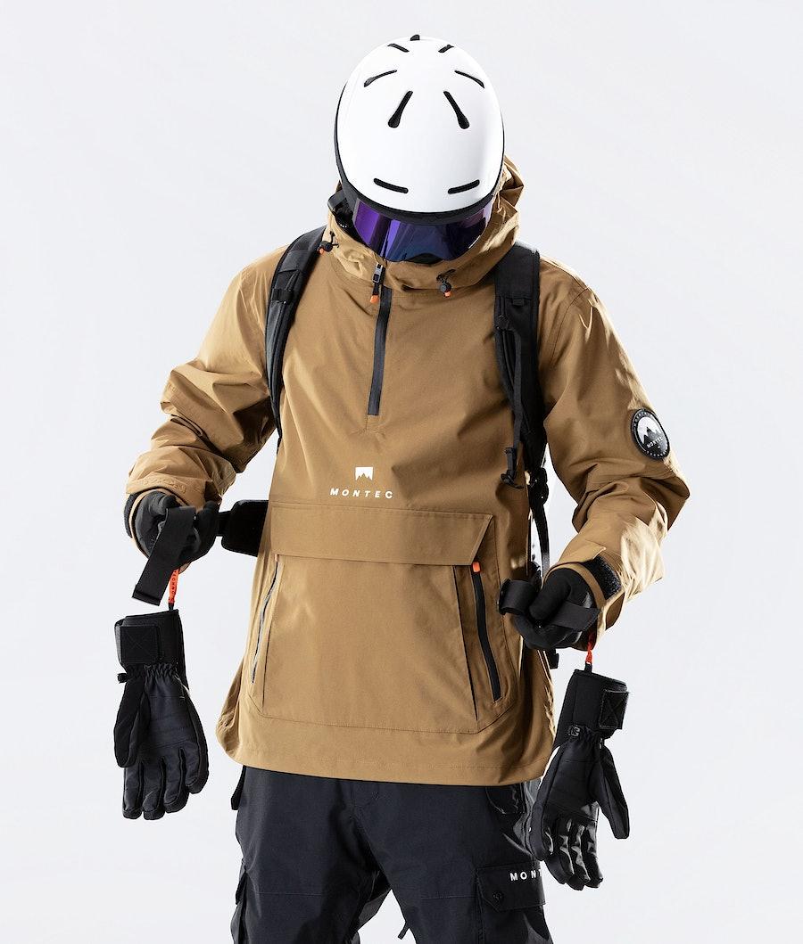 Montec Typhoon Ski Jacket Gold