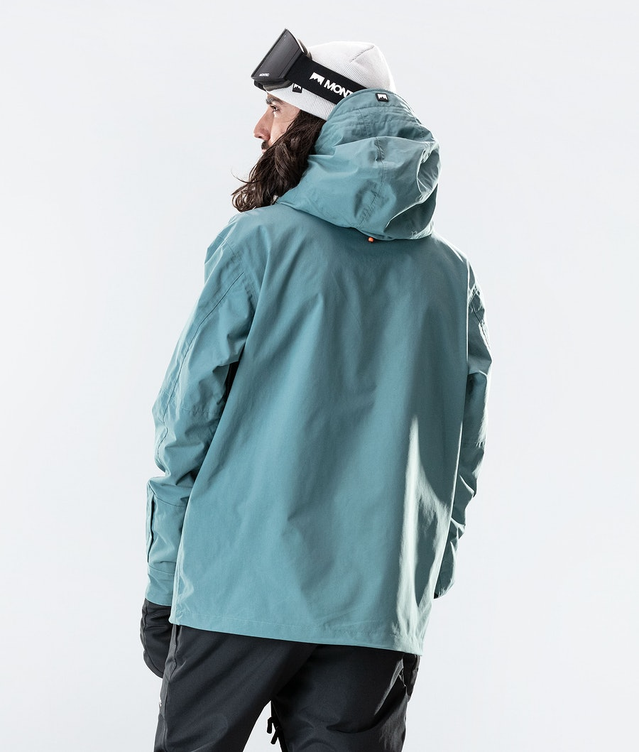Montec Typhoon Ski Jacket Atlantic