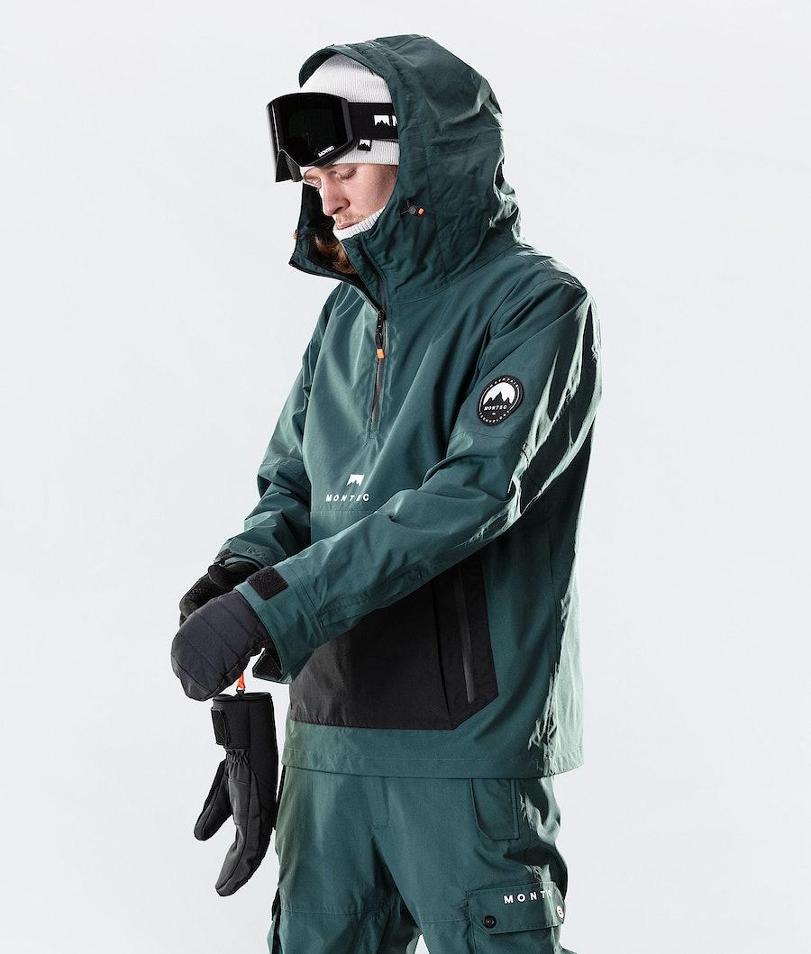 Montec Typhoon Ski Jacket Dark Atlantic/Black