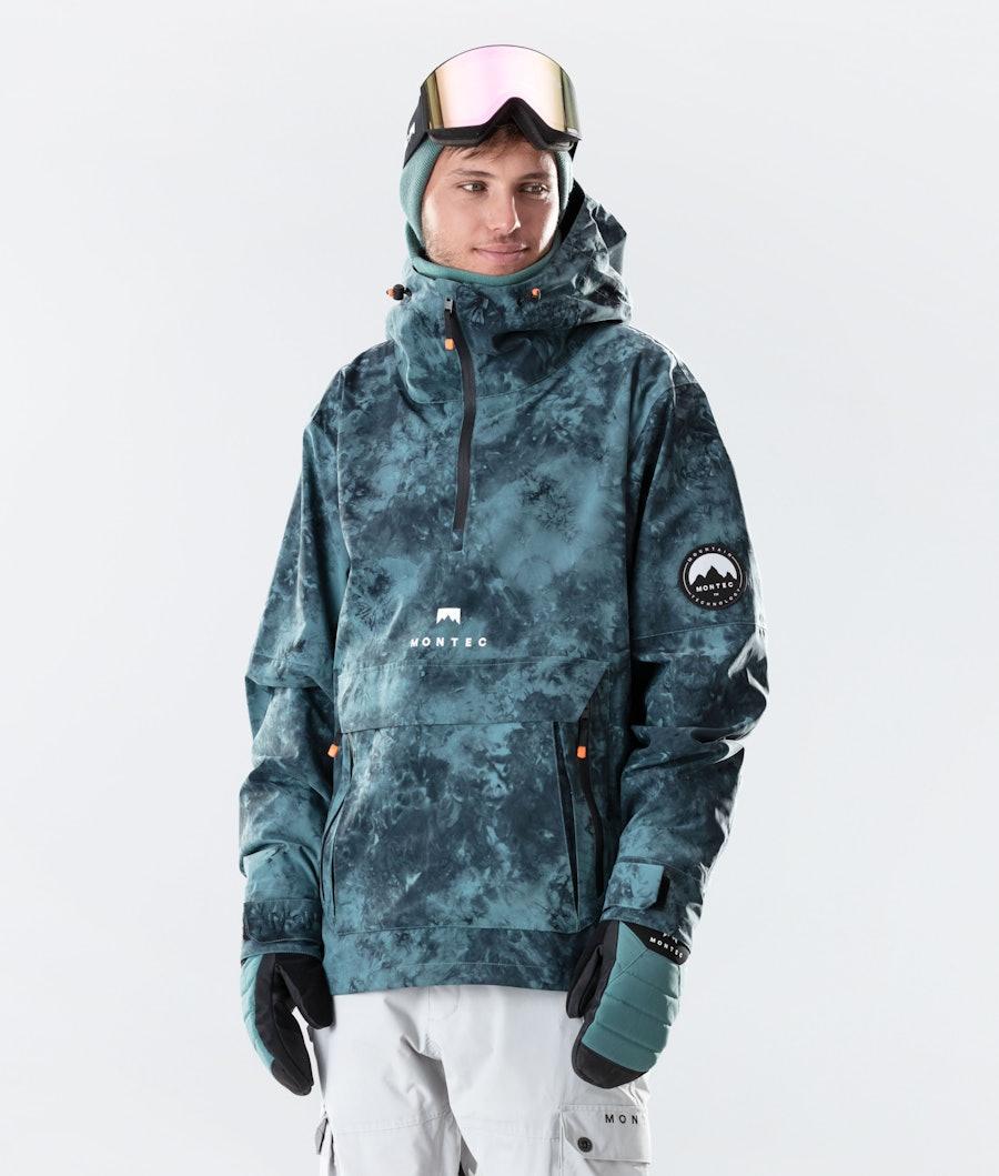 Montec Typhoon Ski Jacket Atlantic Tiedye Ski Jacket Atlantic Tiedye
