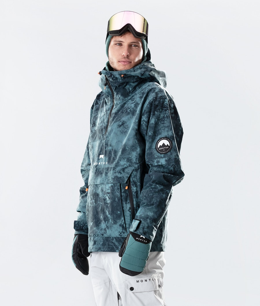 Montec Typhoon Ski Jacket Atlantic Tiedye