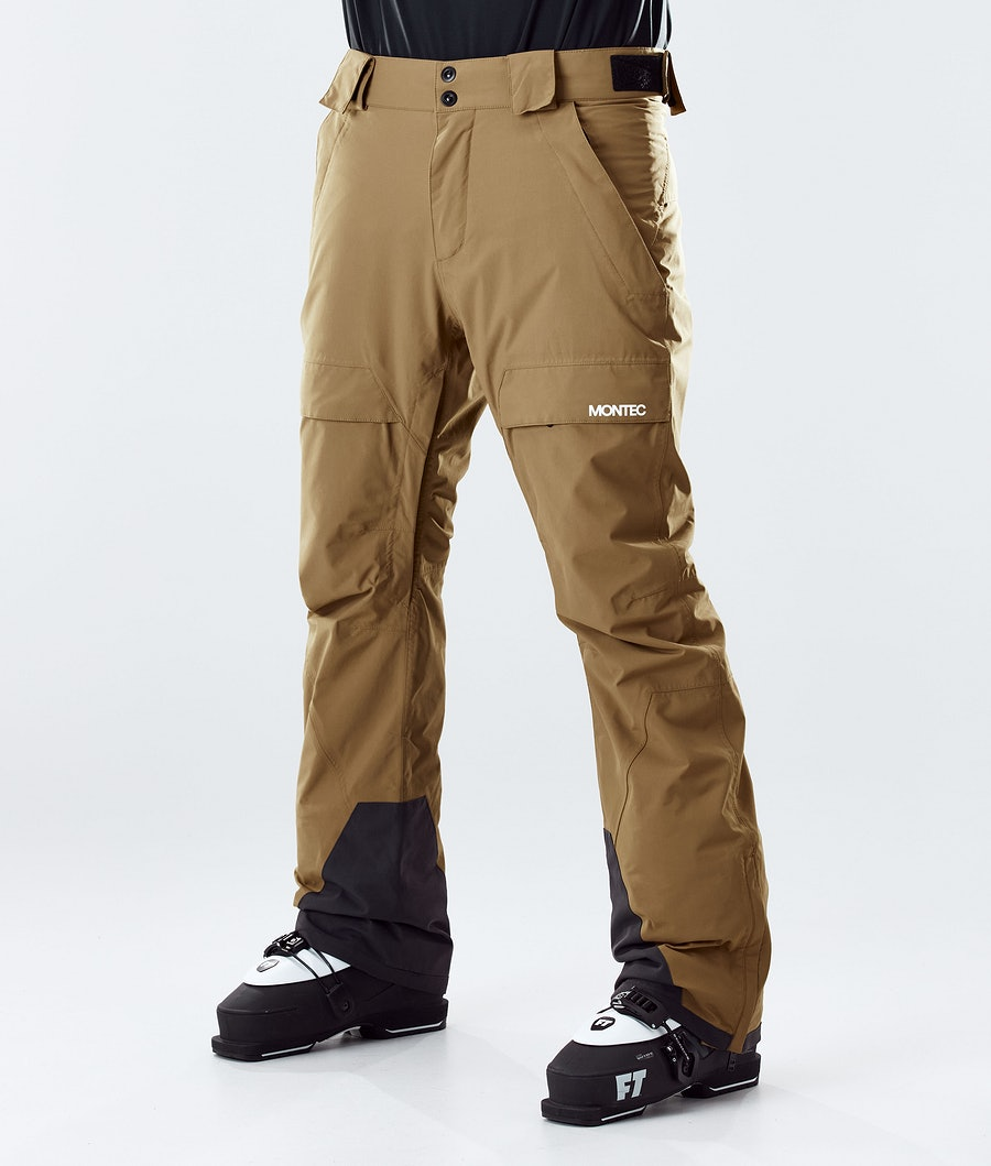 Dune Ski Pants Men Gold