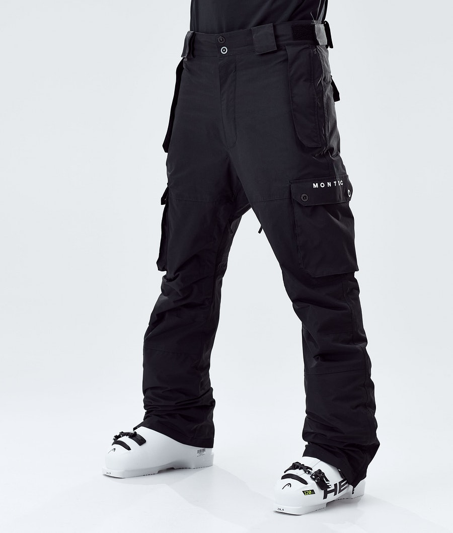 Doom Ski Pants Men Black