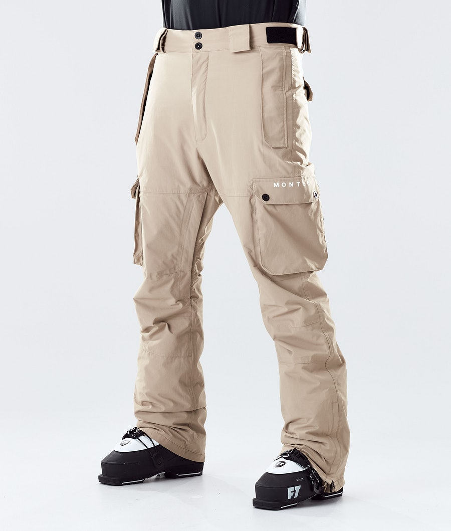 Doom Ski Pants Men Khaki