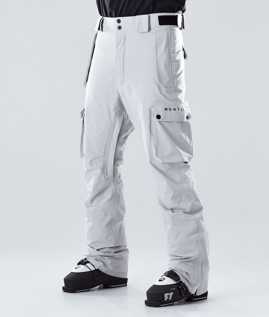 Doom Ski Pants Men Light Grey