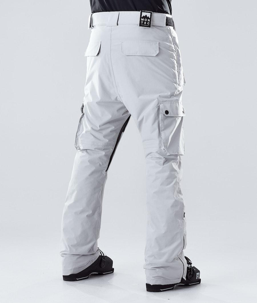 Montec Doom Ski Pants Light Grey