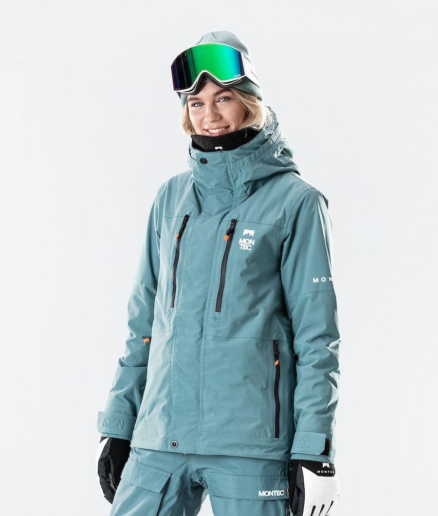 Montec Fawk W Women's Ski Jacket Atlantic