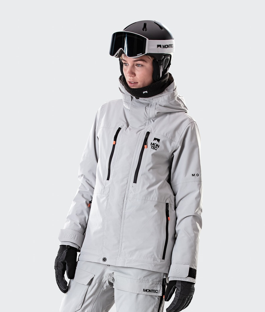 Fawk W Ski Jacket Women Light Grey