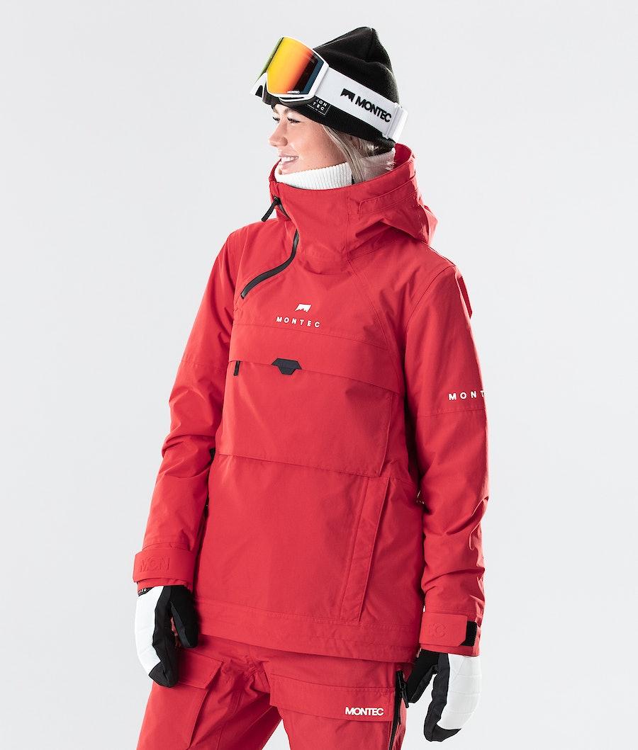 Montec Dune W Ski Jacket Red Ski Jacket Red