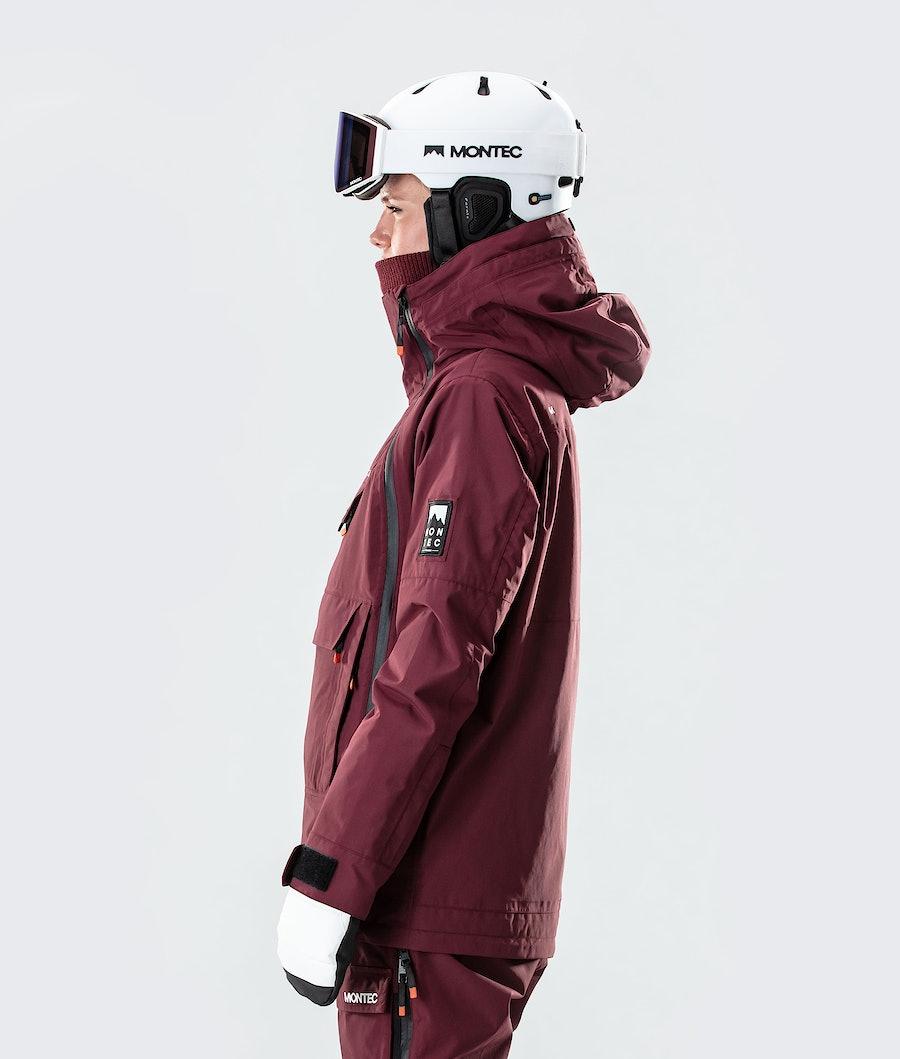 Montec Doom W Women's Ski Jacket Burgundy
