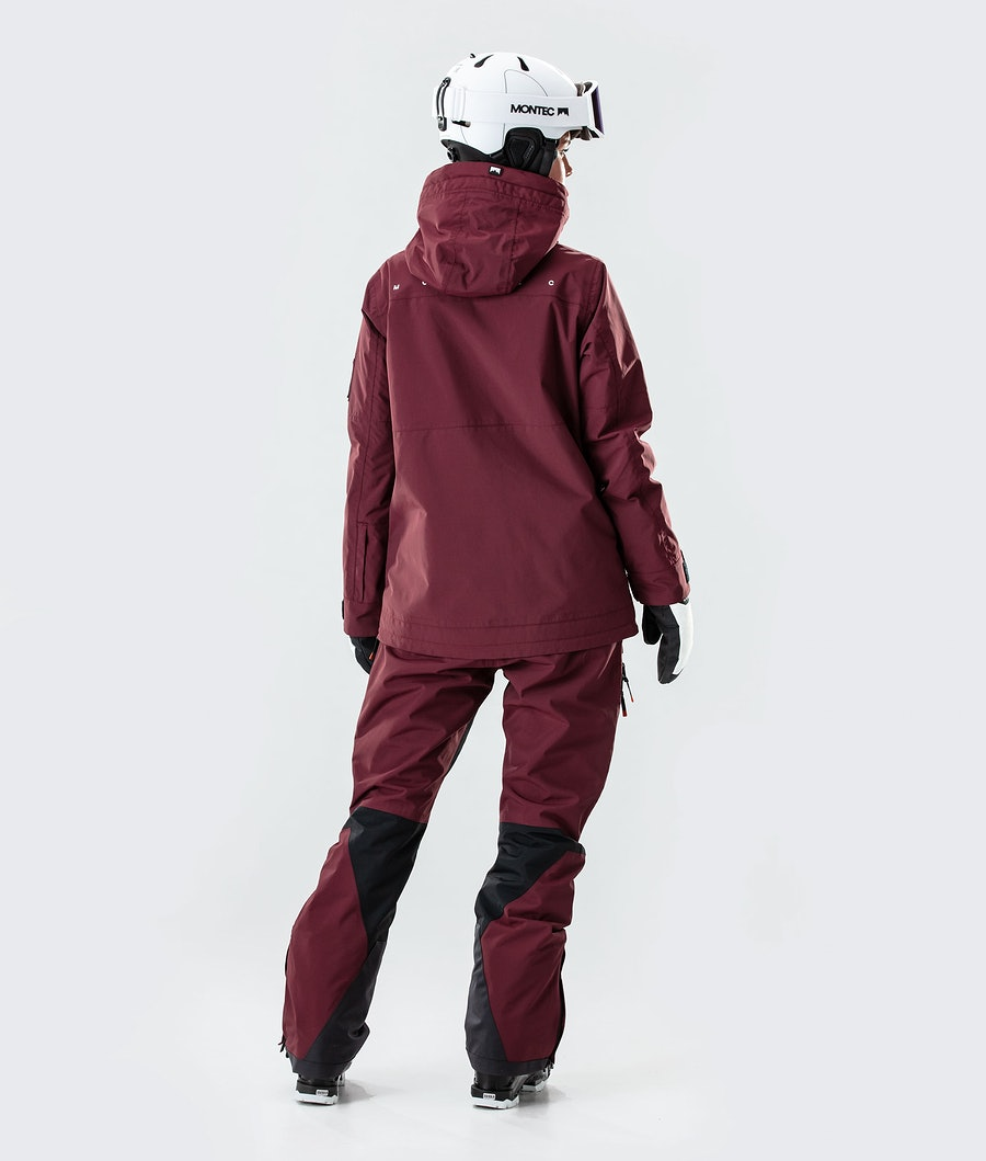 Montec Doom W Women's Ski Jacket Burgundy