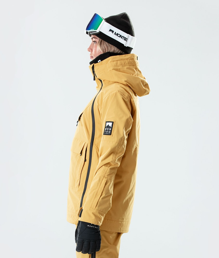 Montec Doom W Women's Ski Jacket Yellow
