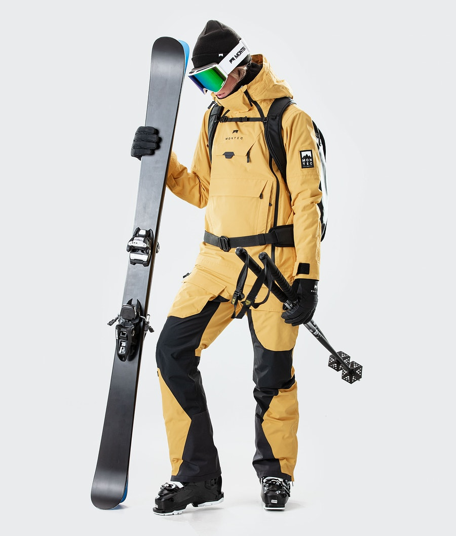 Montec Doom W Women's Ski Jacket Yellow