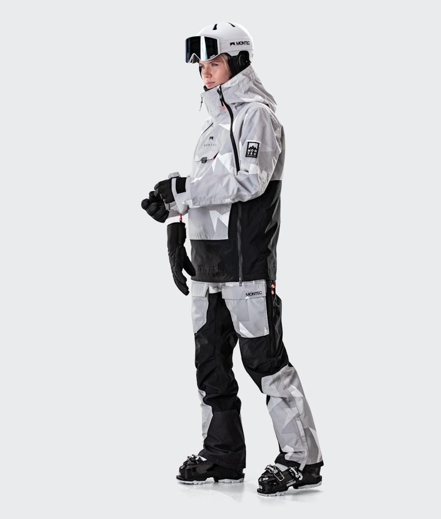 Montec Doom W Women's Ski Jacket Snow Camo/Black