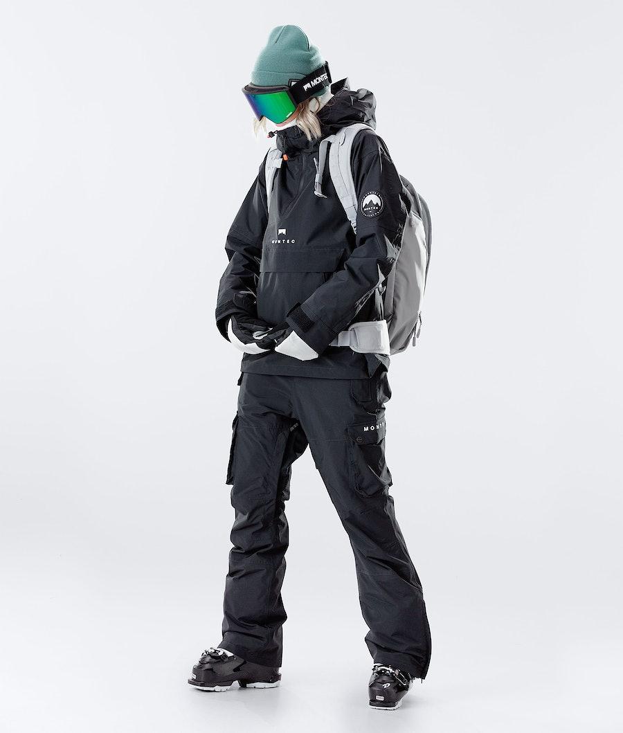 Montec Typhoon W Women's Ski Jacket Black