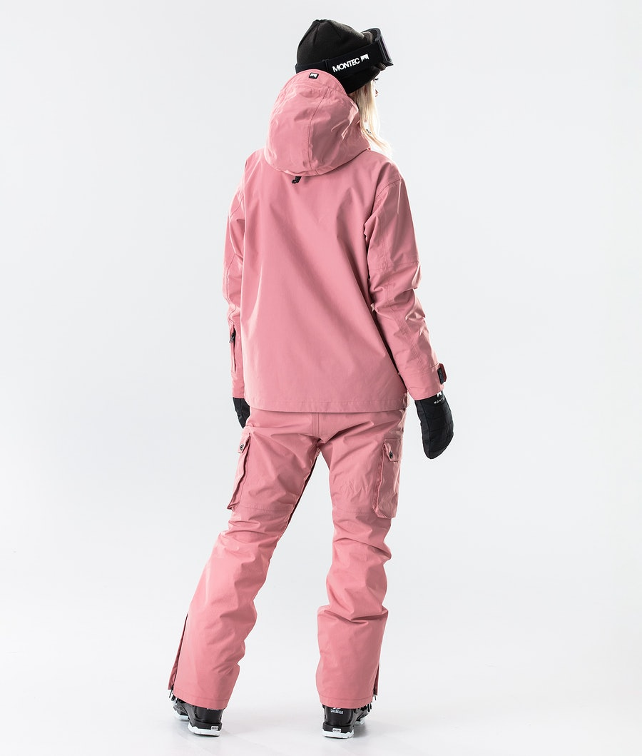 Montec Typhoon W Women's Ski Jacket Pink