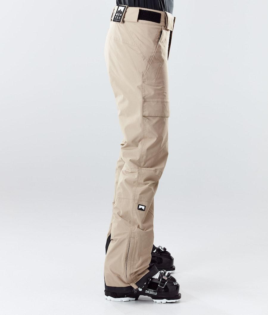 Montec Dune W Women's Ski Pants Khaki