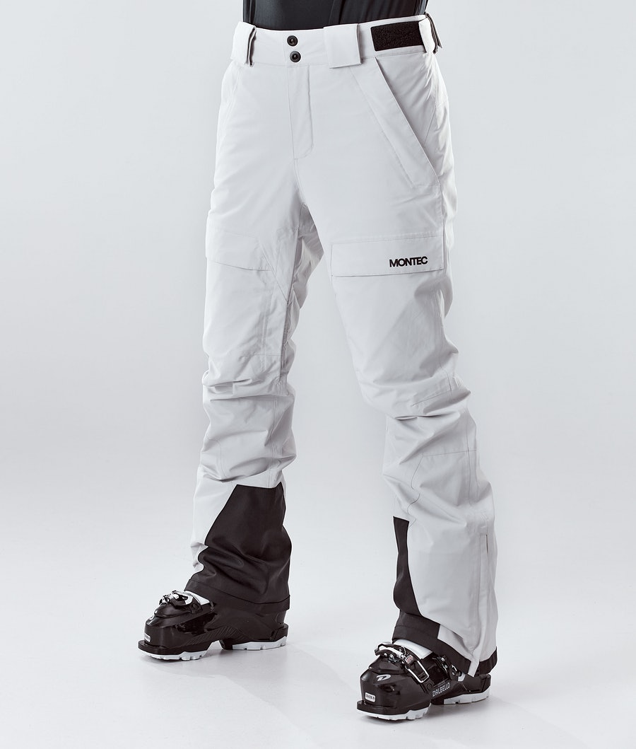 Montec Dune W Women's Ski Pants Light Grey