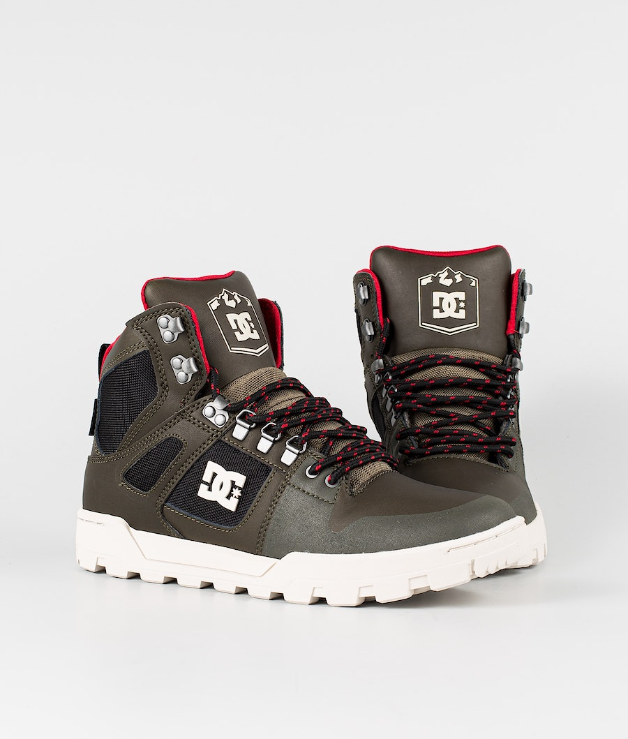 DC Pure High-Top Wr Boot Shoes Deep Forest