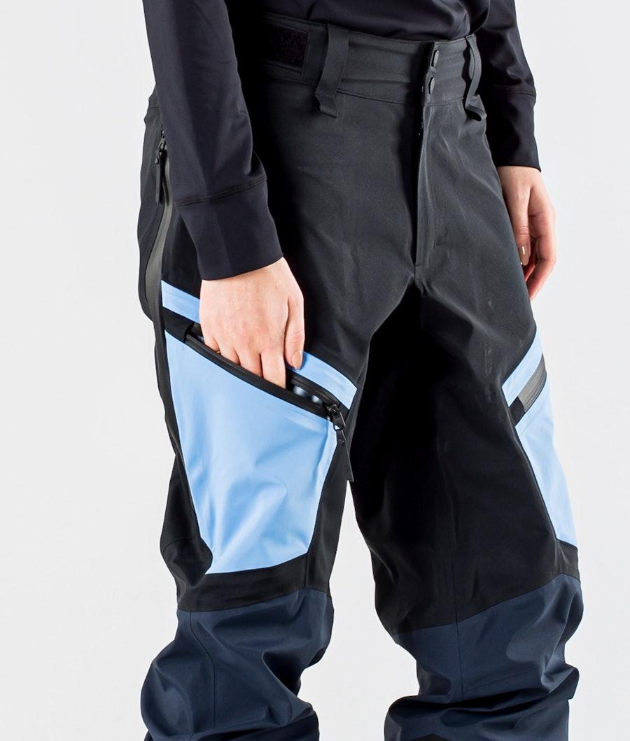 Peak Performance Gravity Women's Ski Pants Blue Shadow