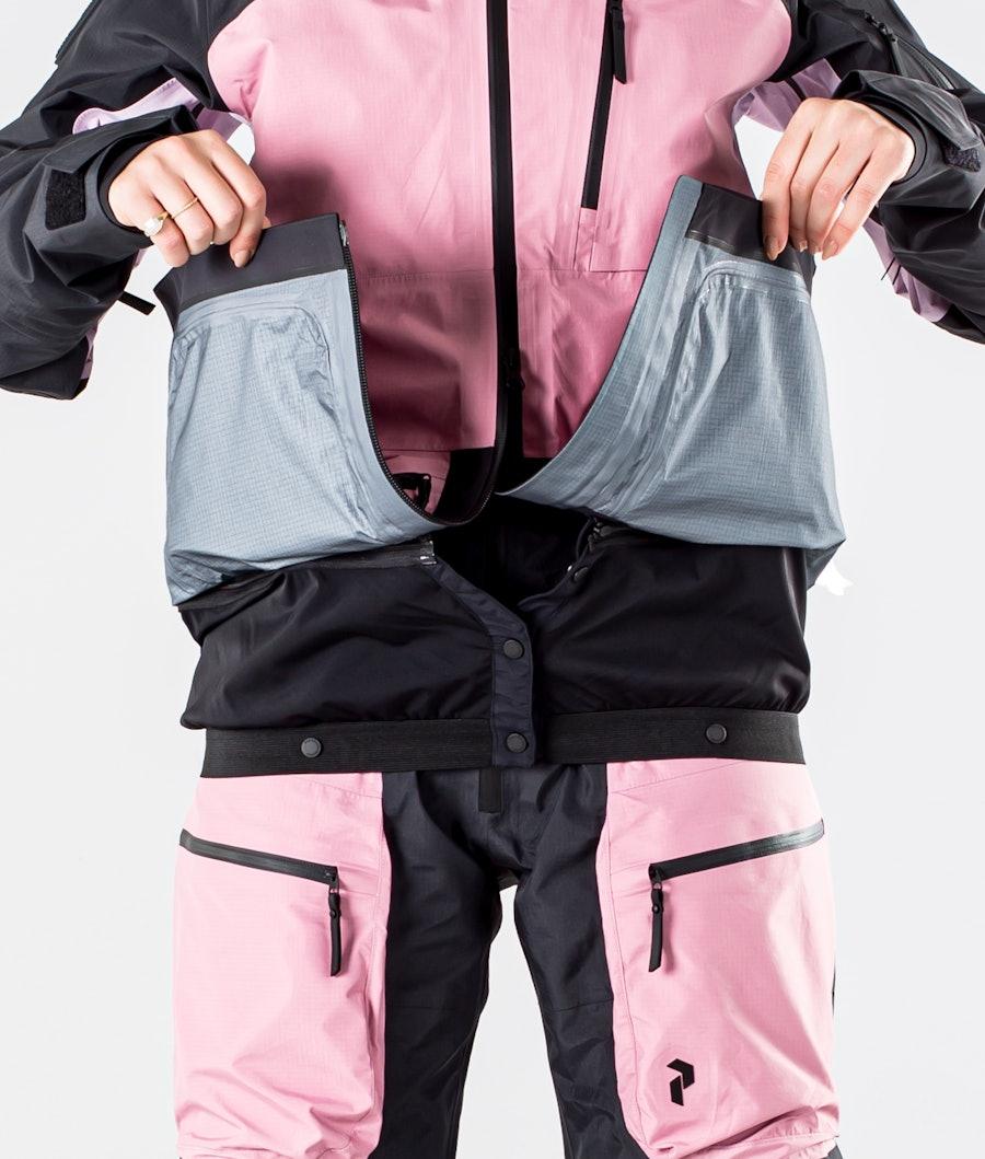 Peak Performance Vertical Pro Snowboard jas Dames Iron Cast