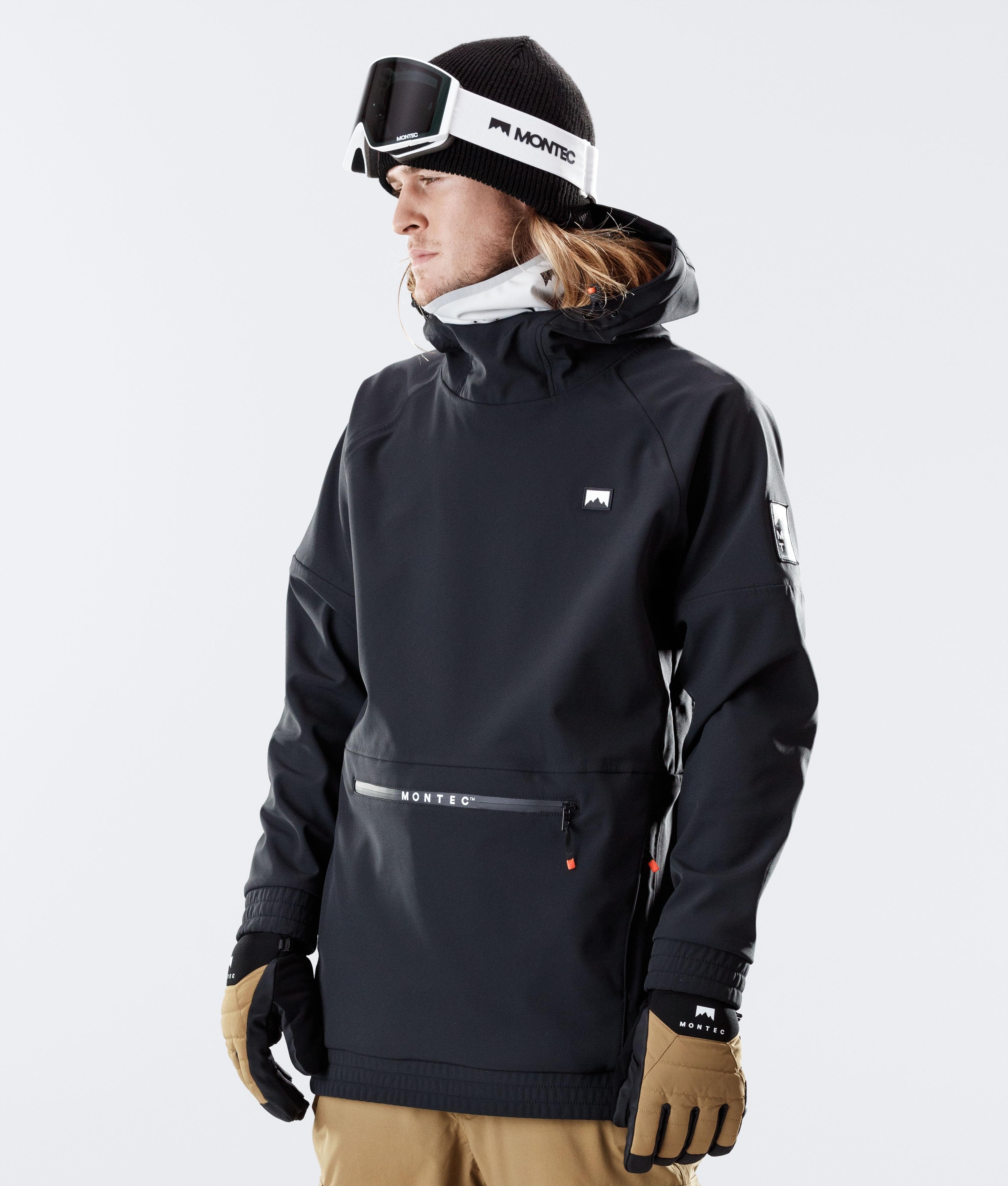 Avenmax Mens Ski Jacket Waterproof Windproof Rain Snow Jacket Hooded Ski Coat