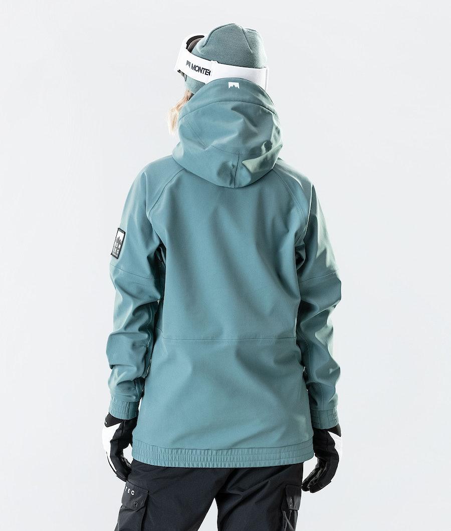 Montec Tempest W Women's Ski Jacket Atlantic
