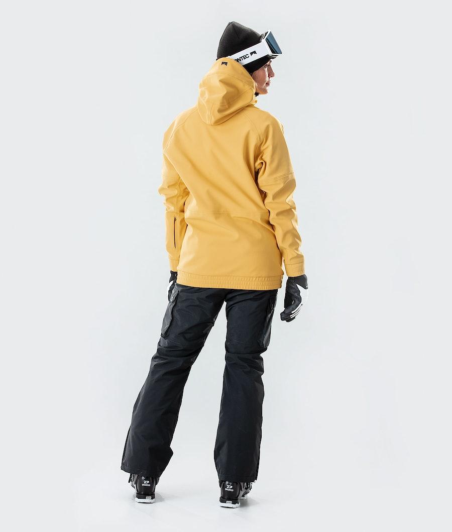 Montec Tempest W Women's Ski Jacket Yellow