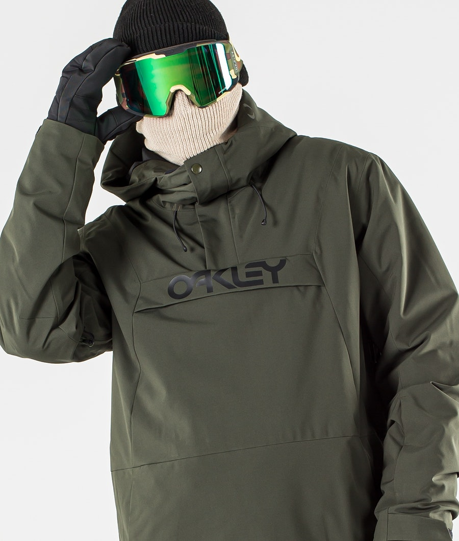 Oakley TNP Insulated Anorak Snowboardjacka New Dark Brush