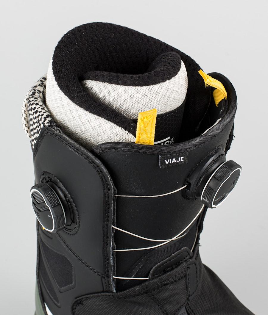 Vans Viaje Snowboardboots Damen Black/Beetle