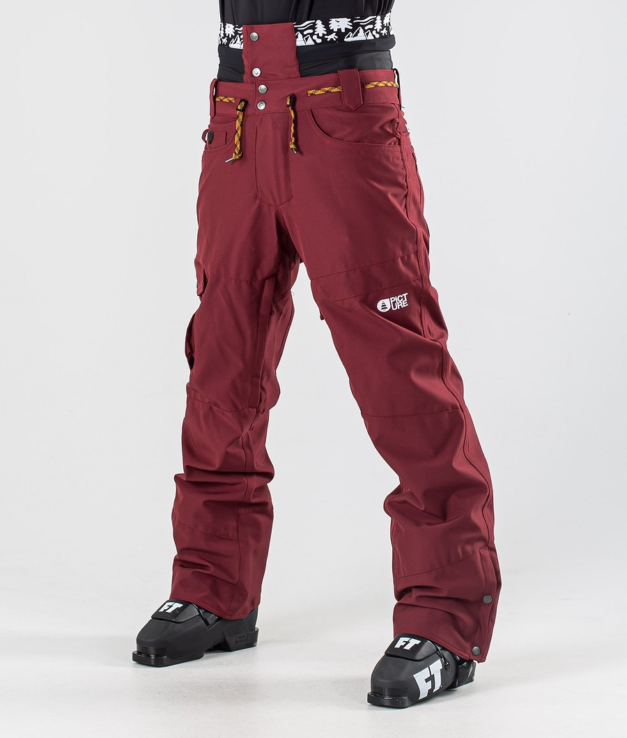 Picture Under Ski Pants Ketchup
