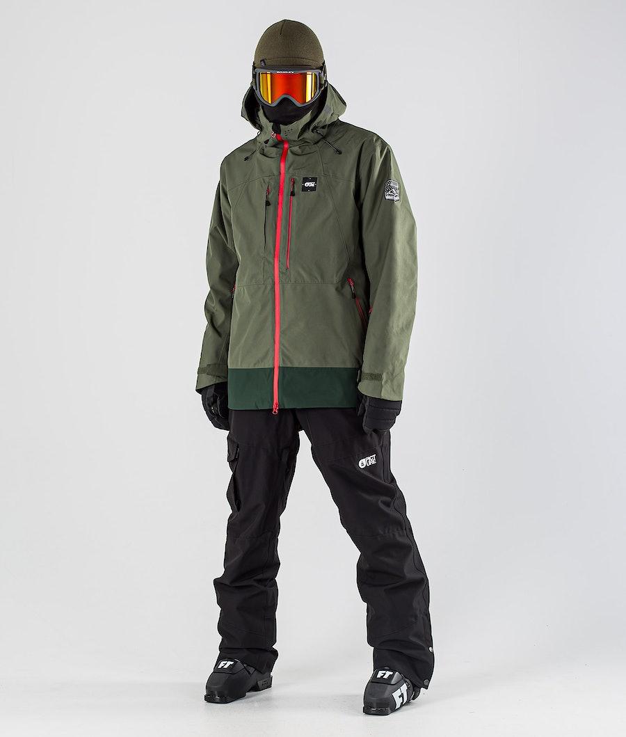 Picture Track Ski Jacket Lychen Green