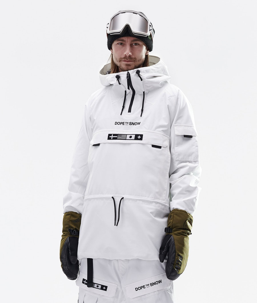KB Annok Snowboard Jacket Men White