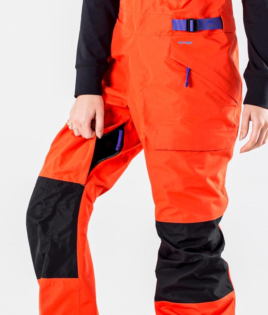 The North Face Team Kit Pantaloni Sci Donna Flare/Tnf Black