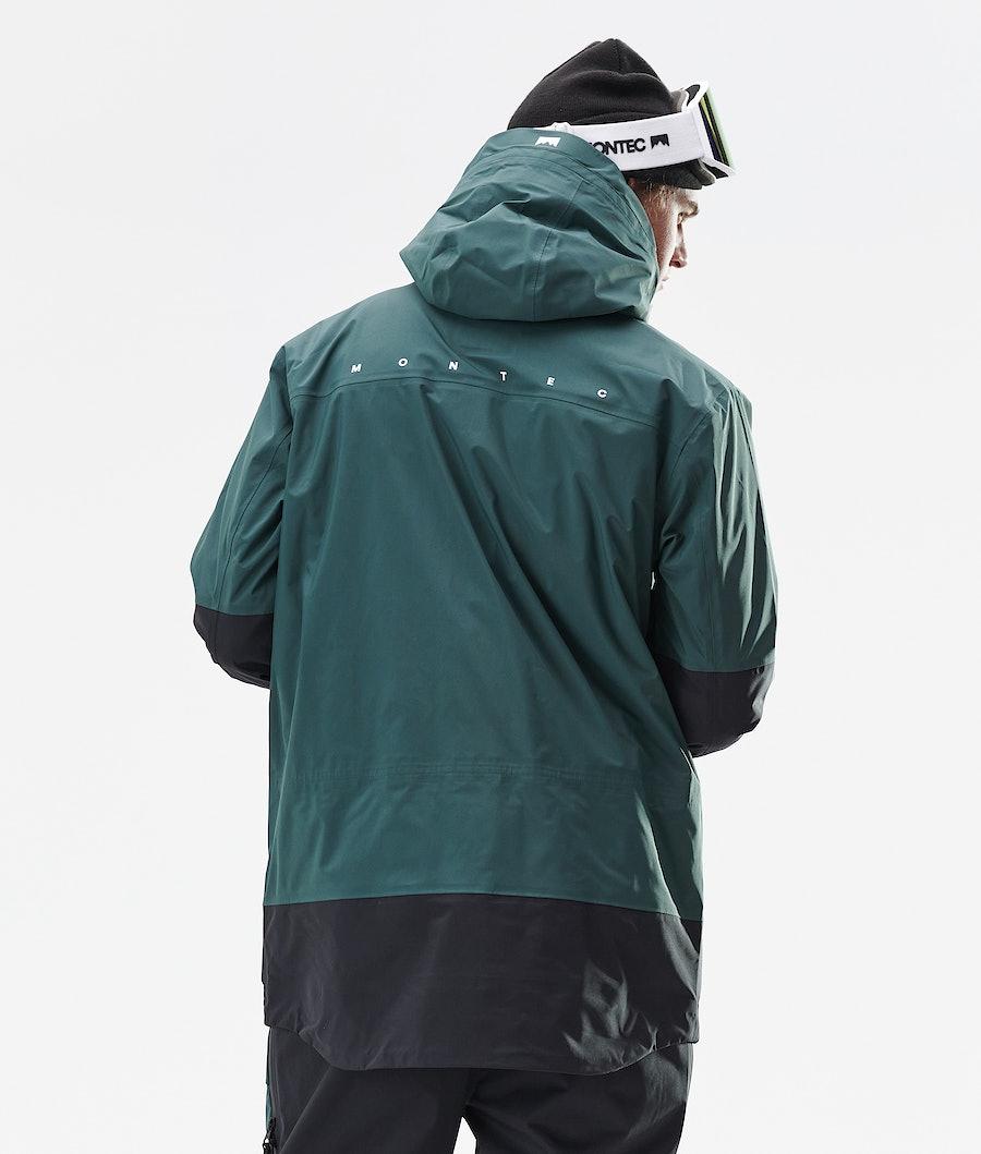 Montec Fenix 3L Ski Jacket Dark Atlantic Black