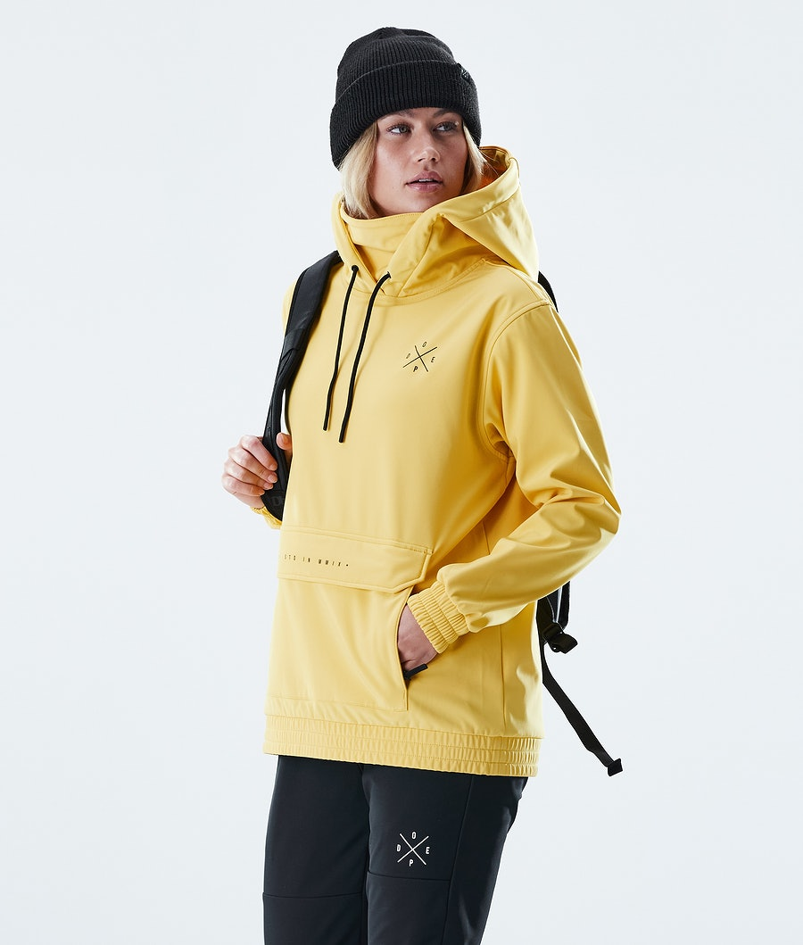 Dope Nomad Outdoor Jacket Yellow