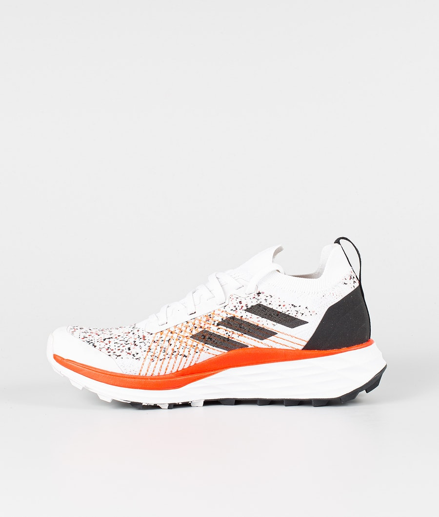 Adidas Terrex Two Parley Women's Shoes Crystal White/Core Black/Solar Red