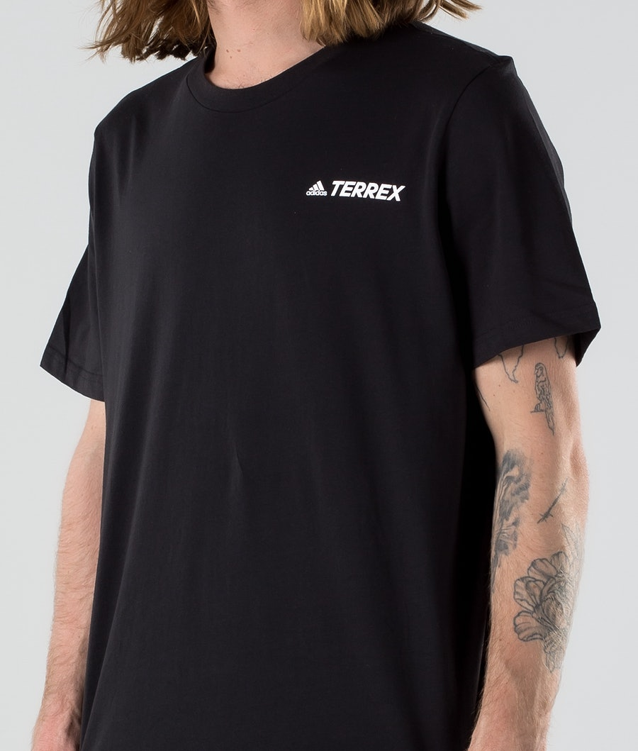Adidas Terrex Moun GFX T-shirt Black
