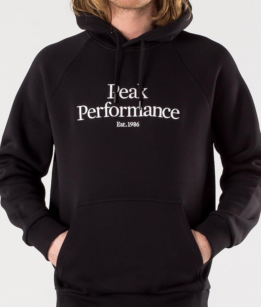 Peak Performance Original Hoodie Black