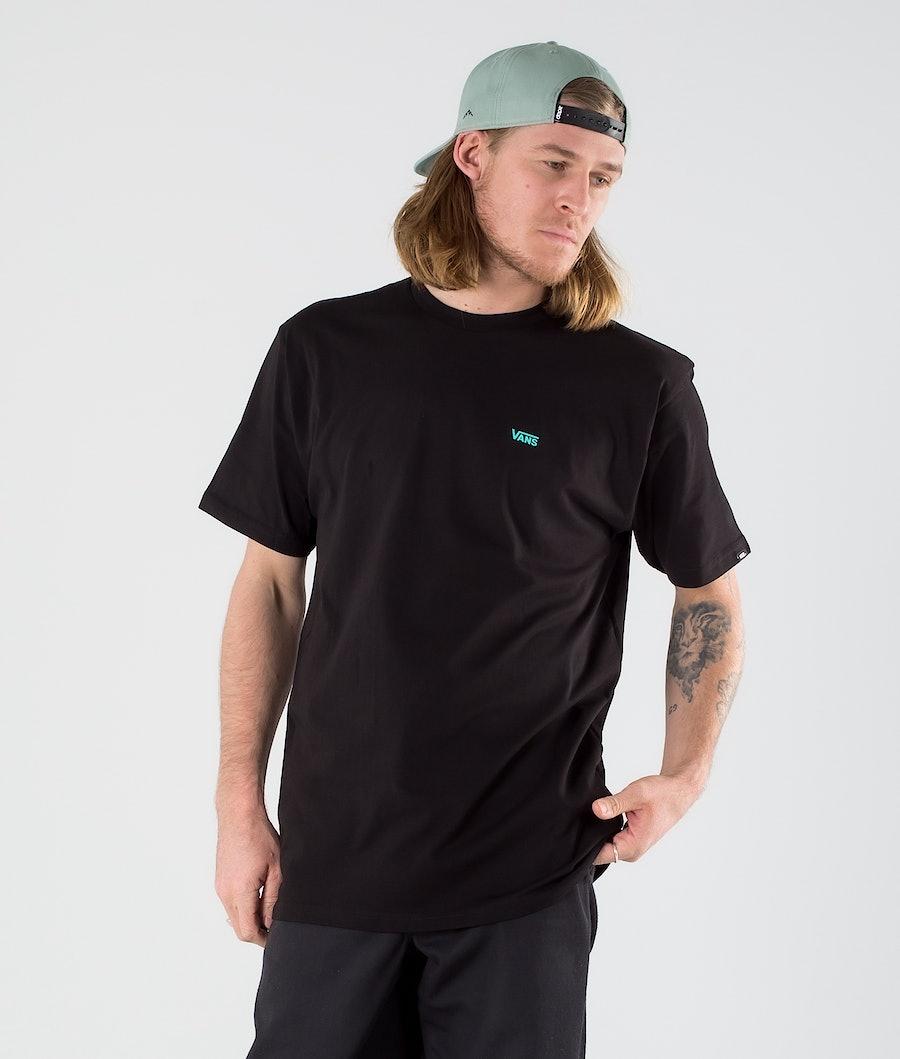 Vans Left Chest Logo T-shirt Black/Waterfall