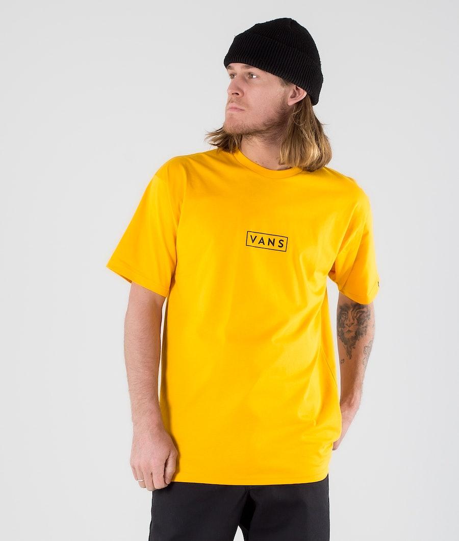 Vans Classic Easy Box T-shirt Saffron/Black