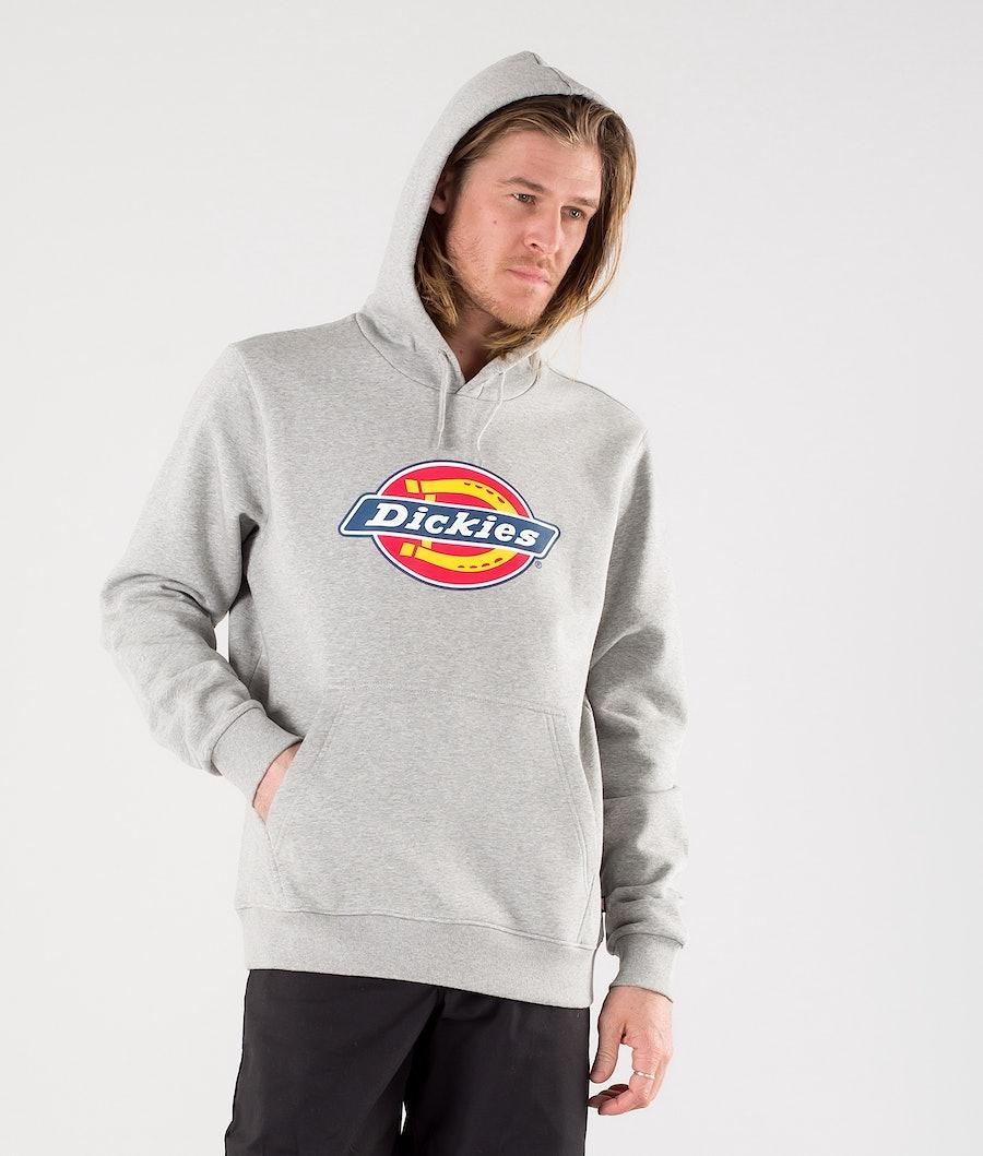 Dickies Icon Logo Hood Grey Melange