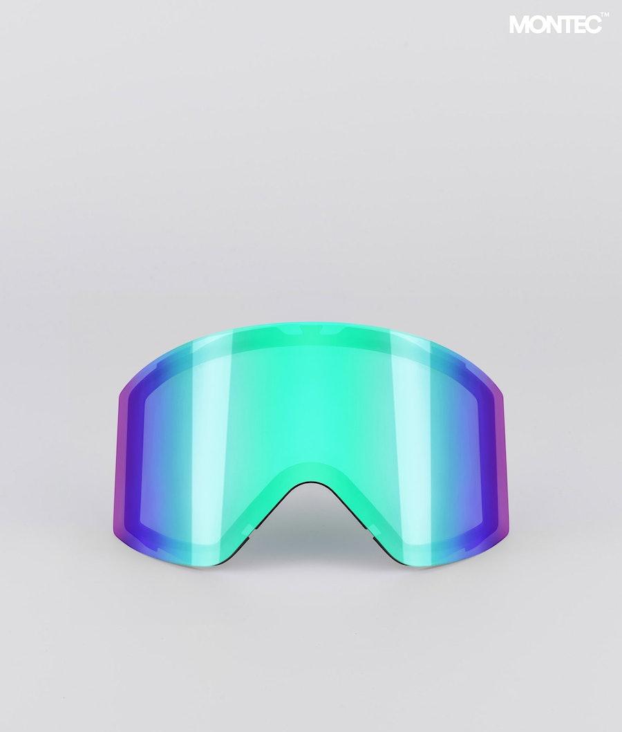 Montec Scope Large Replacement Lens Ski Tourmaline Green