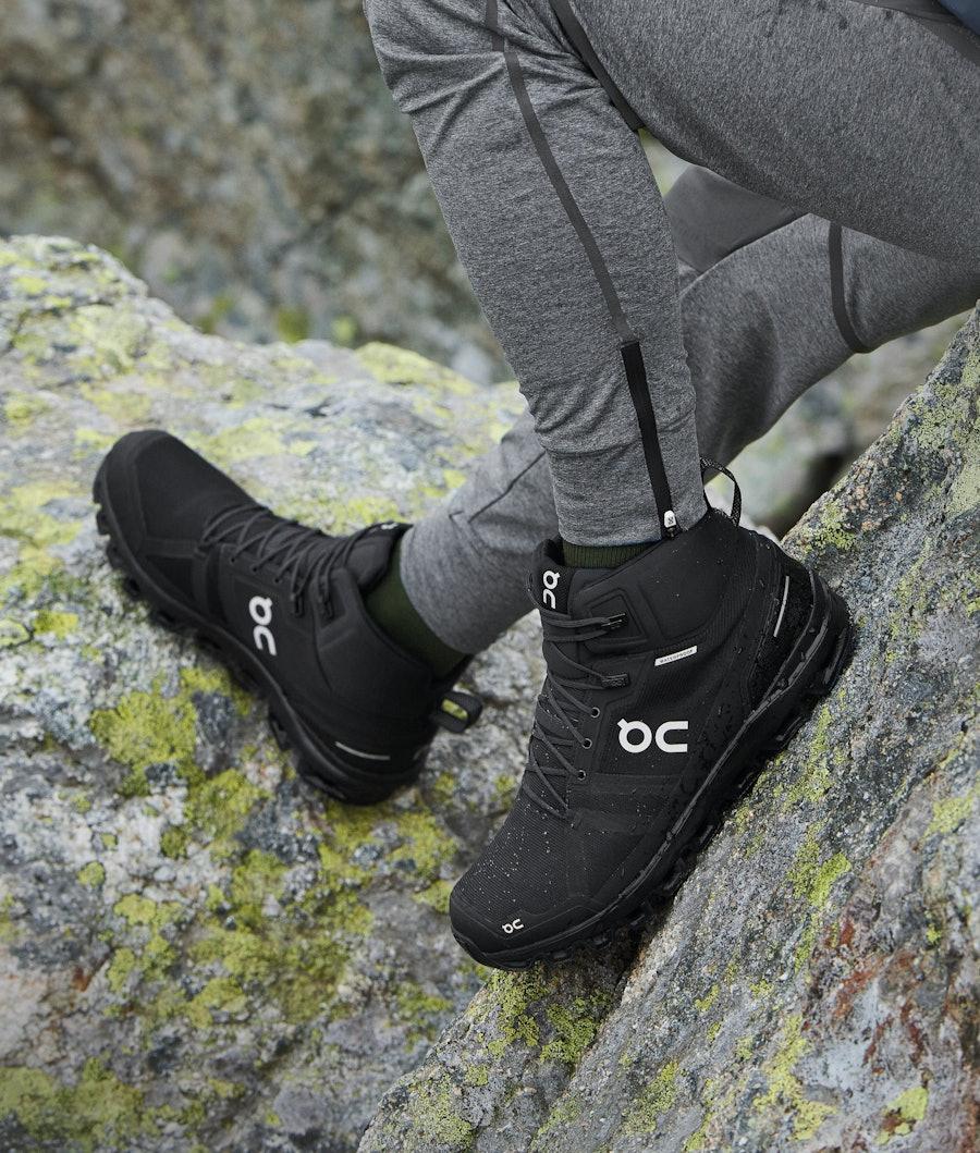 On Shoes Cloudrock Waterproof Scarpe All Black