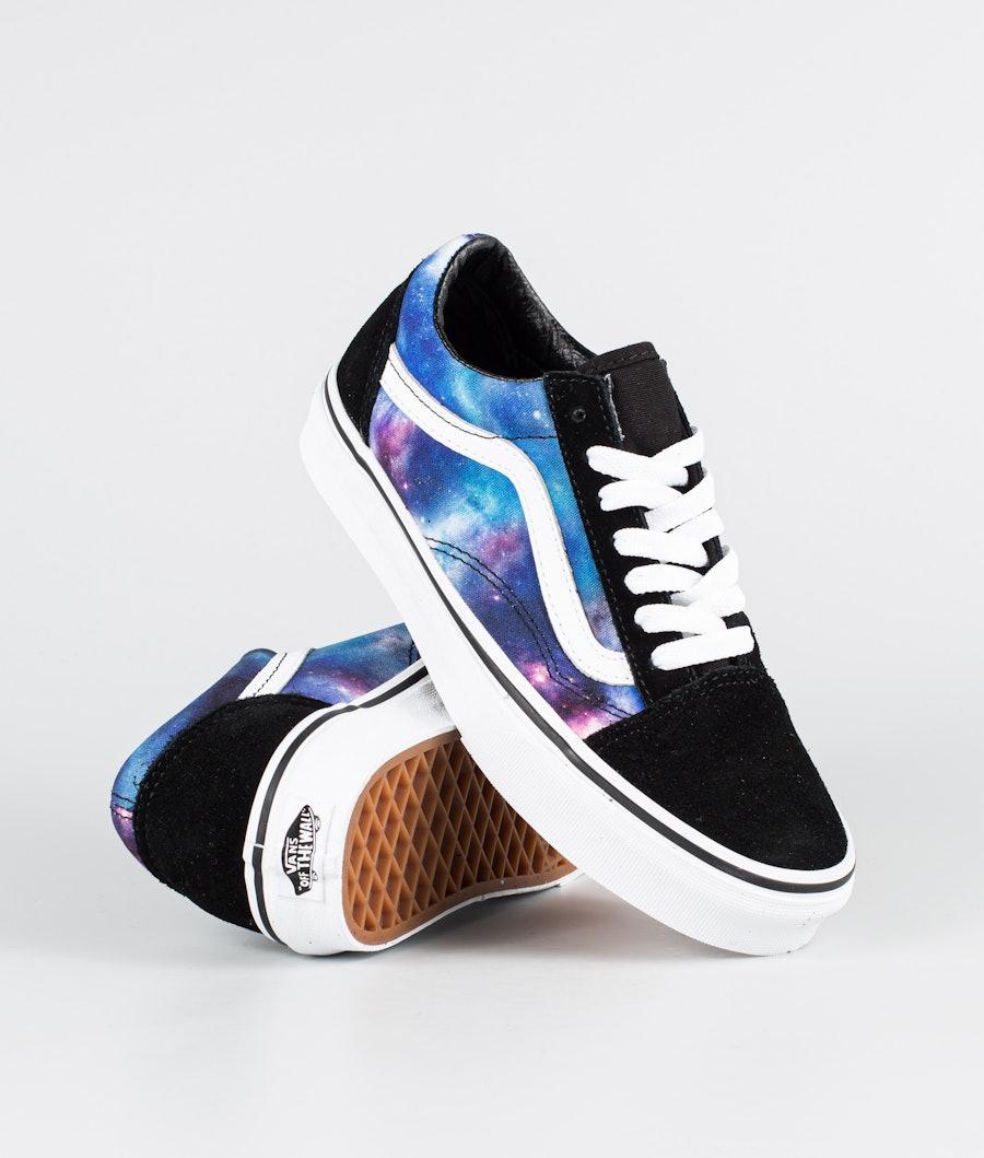 Vans Ua Old Skool Skor (Galaxy) Black/True White
