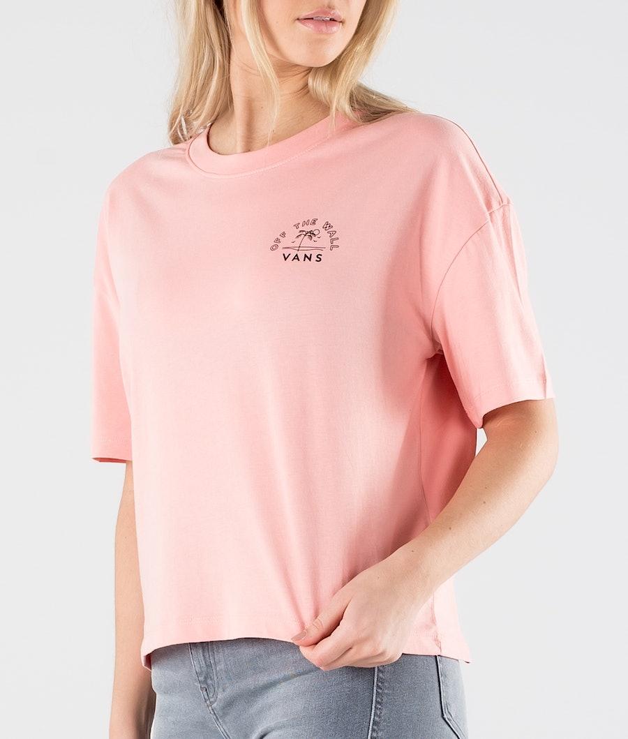 Vans Retro Retirement T-shirt Donna Coral Almond
