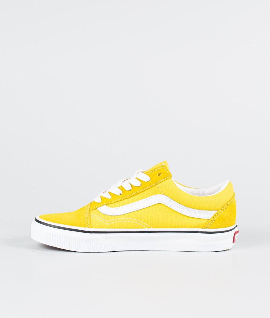 Vans Ua Old Skool Skor Dam Cyber Yellow/True White