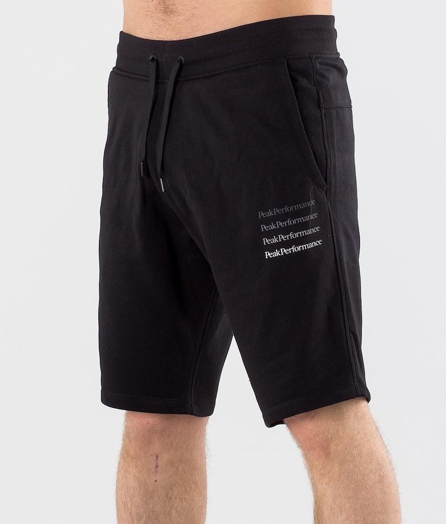 Peak Performance Ground Shorts Black
