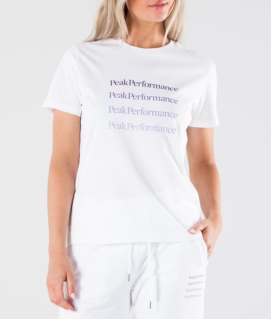 Peak Performance Ground 1 Women's T-shirt White