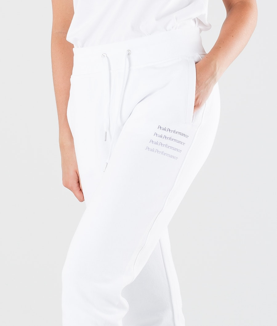 Peak Performance Ground Tapered Women's Outdoor Trousers White
